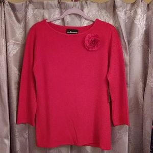 Sag Harbor red sweater